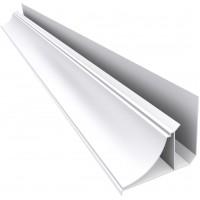 Acabamento Rodaforro Nobre  Moldura PVC (Barra 6M) Branco